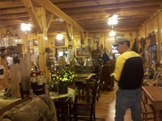 Kurt exploring Amish Country store
