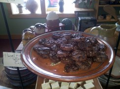 Hazelnut Toffee Cocoa Thins cookie recipe