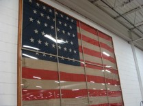 Annin Flag Factory Tour Traveling Marla Coshocton Ohio American flag 23rd 1896