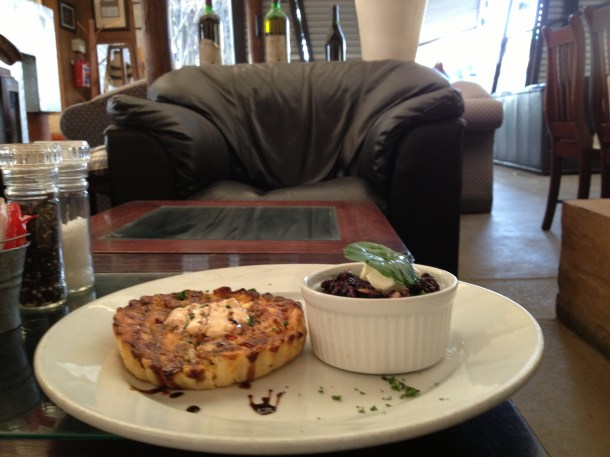 breakfast quiche South Africa cafe black rice