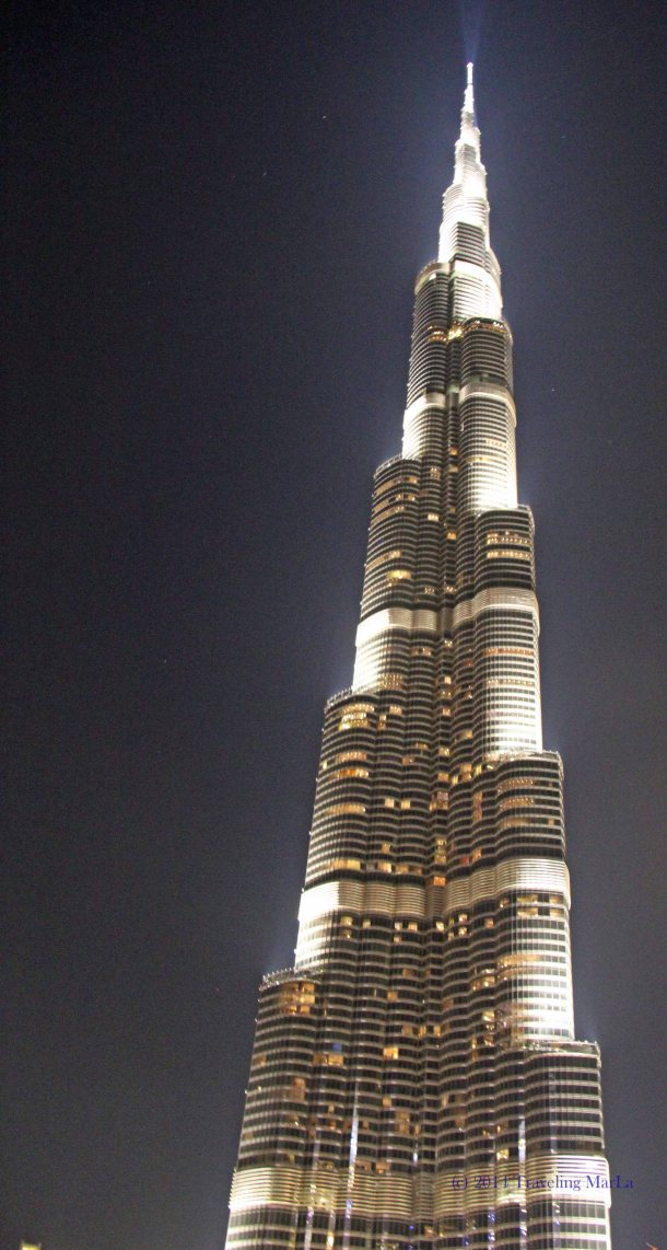 burj khalifa night What is the tallest building in the world How tall is the world's tallest building Where is Dubai Where is the Burj Khalifa Dubai Egypt parallel travel Where is the United Arab Emirates What is the UAE