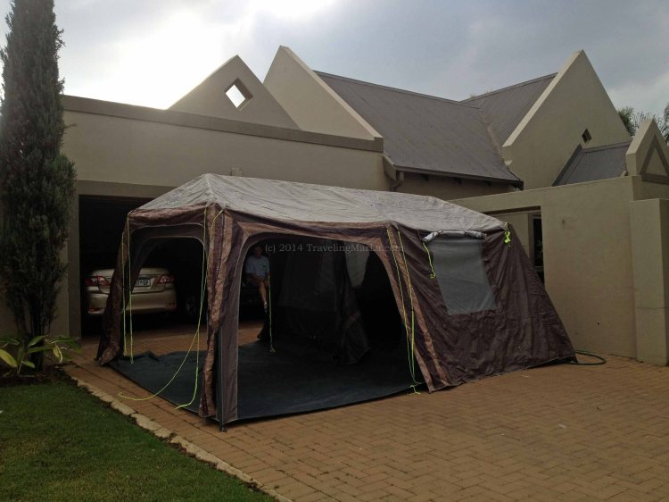 travel Africa camping