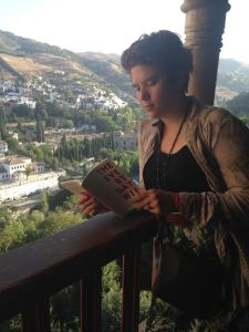 Granada, Spain is where feat. reader Jessica Kinnison spent her days reading The Everyday Wife