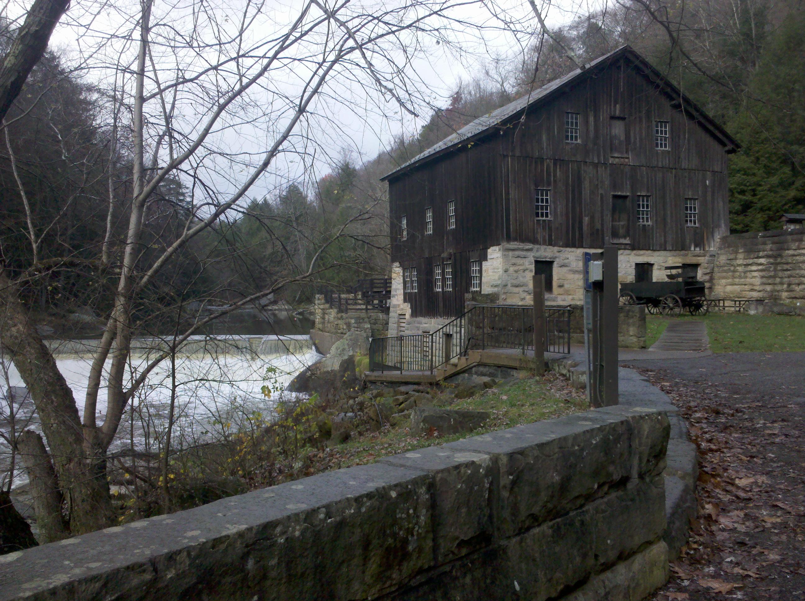 McConnells Mill Slippery Rock Creek State Park PA  Marla Sink Druzgal