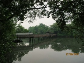 View of main bridge