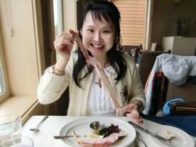 Talkeetna Crab dinner2