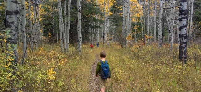 {Tuesday Trails} – Get outside for kids and adults