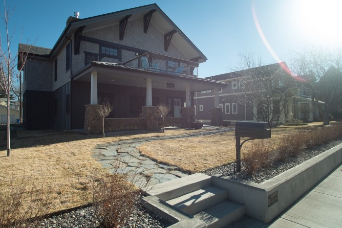 A Stone's Throw Bed and Breakfast is right in downtown Livingston, Montana.