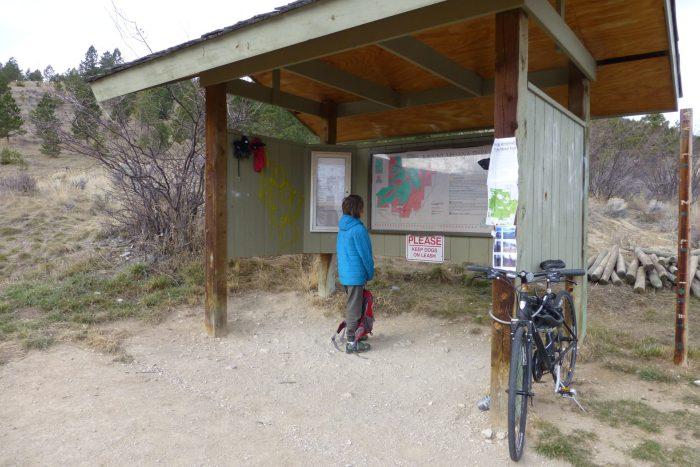 Hike and bike Helena -- trailhead to Mount Helena in the South Hills