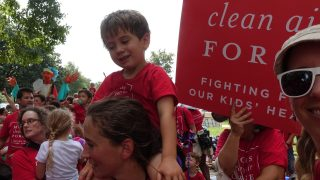 Moms Clean Air Force play-in for climate action 2016