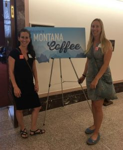 Montana Coffee with Senators Tester and Daines and Congressman Zinke at the Moms Clean Air Force play-in.