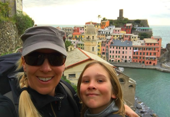 cinque terre for families