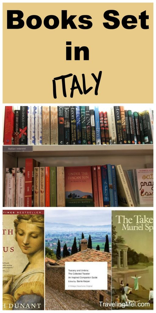 Books Set in Italy Pin