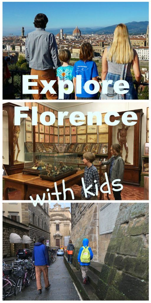 Explore Florence with kids: zip lines, museums, scavenger hunts, and gelato!