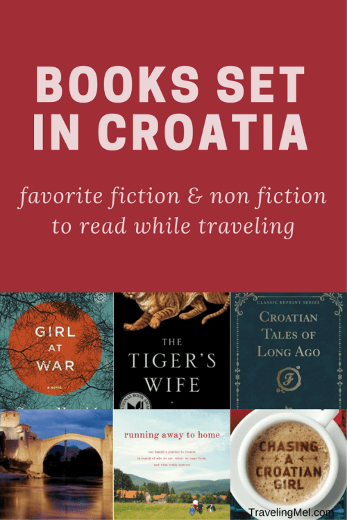 My favorite books set in Croatia for travelers and armchair travelers alike.