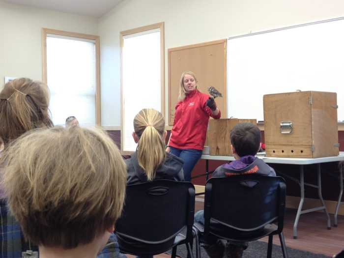 Grizzly and Wolf Discovery Center in West Yellowstone free birds of prey talk
