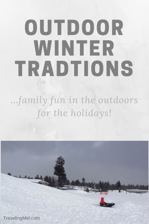 A collection of outdoor winter traditions. Steal some of these!
