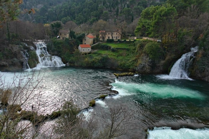Krka Park Krka Falls