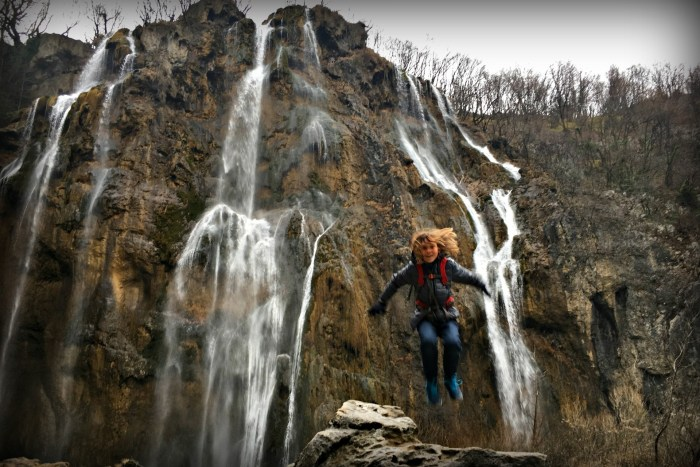 Veliki Slap or the Big Waterfall in Plitvice Lakes Park