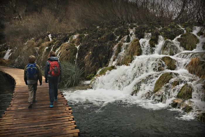 Visiting Plitvice Lakes National Park in Croatia