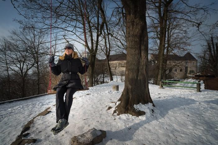 Swing at the Ljubljana Castle – Ljubljanski Grad