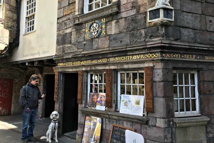 The John Knox House on the Royal Mile will be part of any self guided walking tour