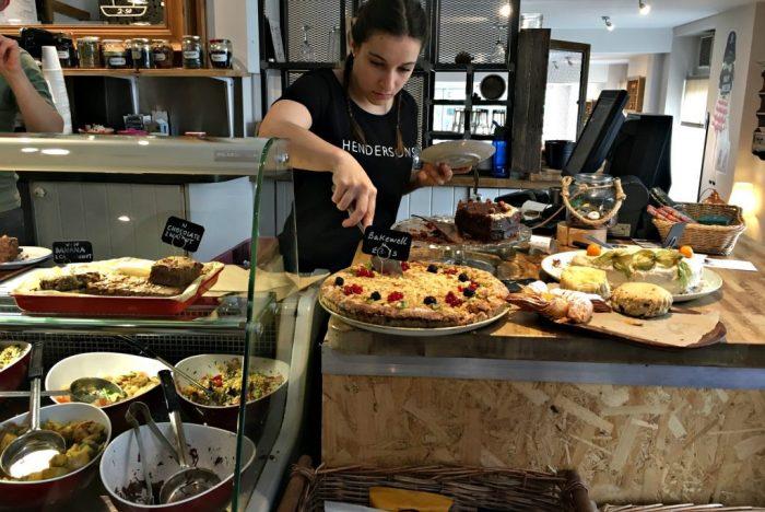 Best vegan breakfast in Edinburgh is at Hendersons