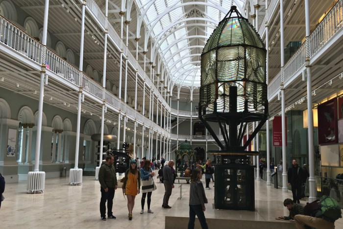 The National Museum of Scotland free museums in Edinburgh