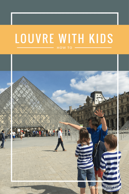 The best way to see the Louvre with kids and families and get the deepest experience.