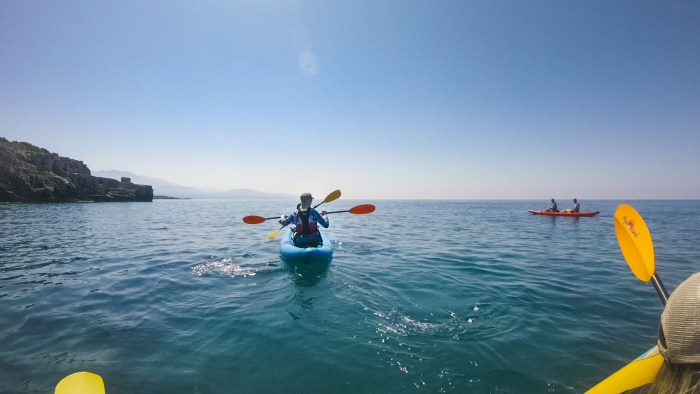 kayaking with montenegro plus