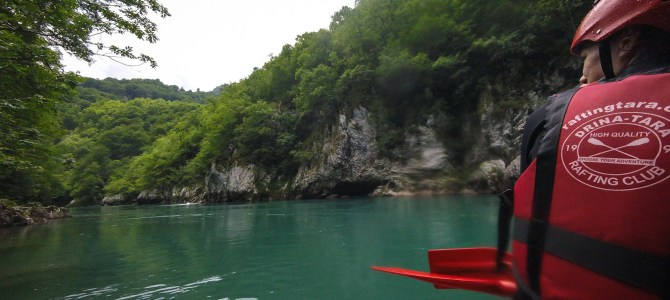 White Water Rafting Tara River Montenegro