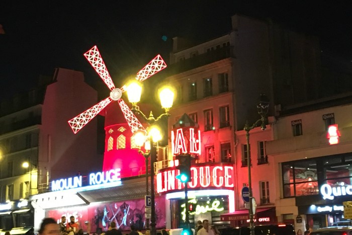 Moulin Rouge is a must see in Paris