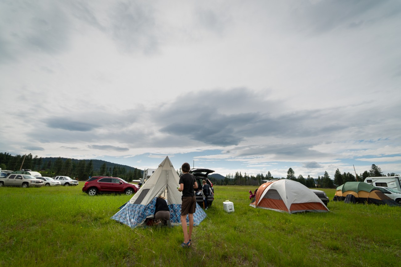 Wenzel Tent festival camping list