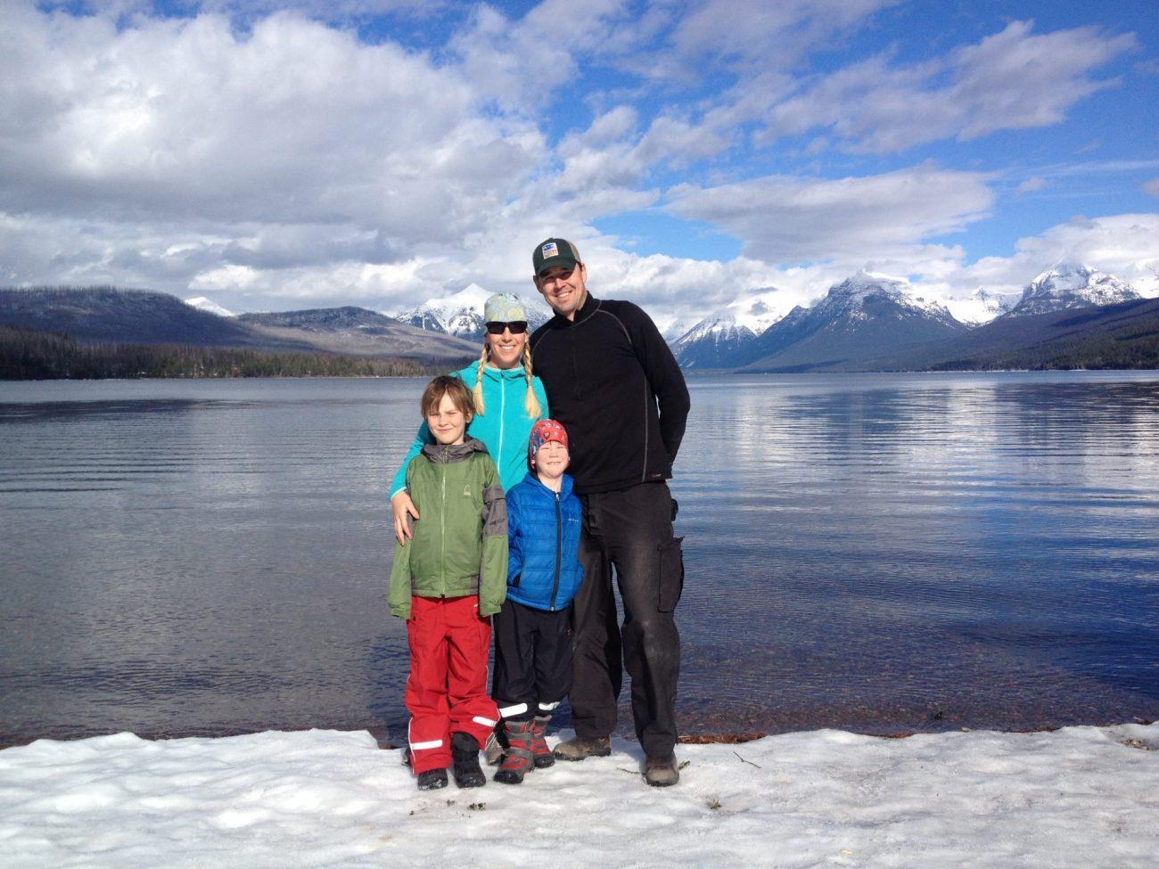 Lake MacDonald Glacier National Park