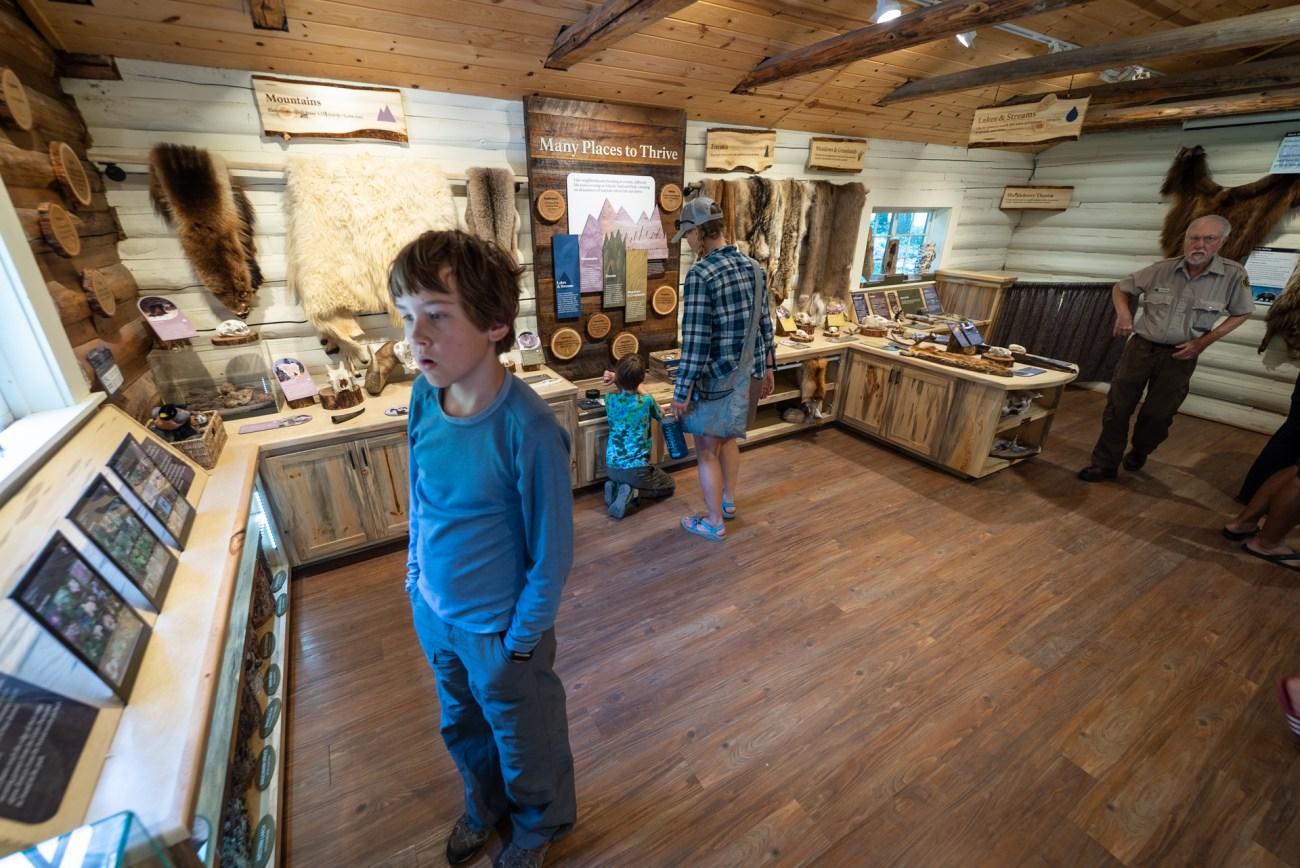 Glacier National Park Visitor Center