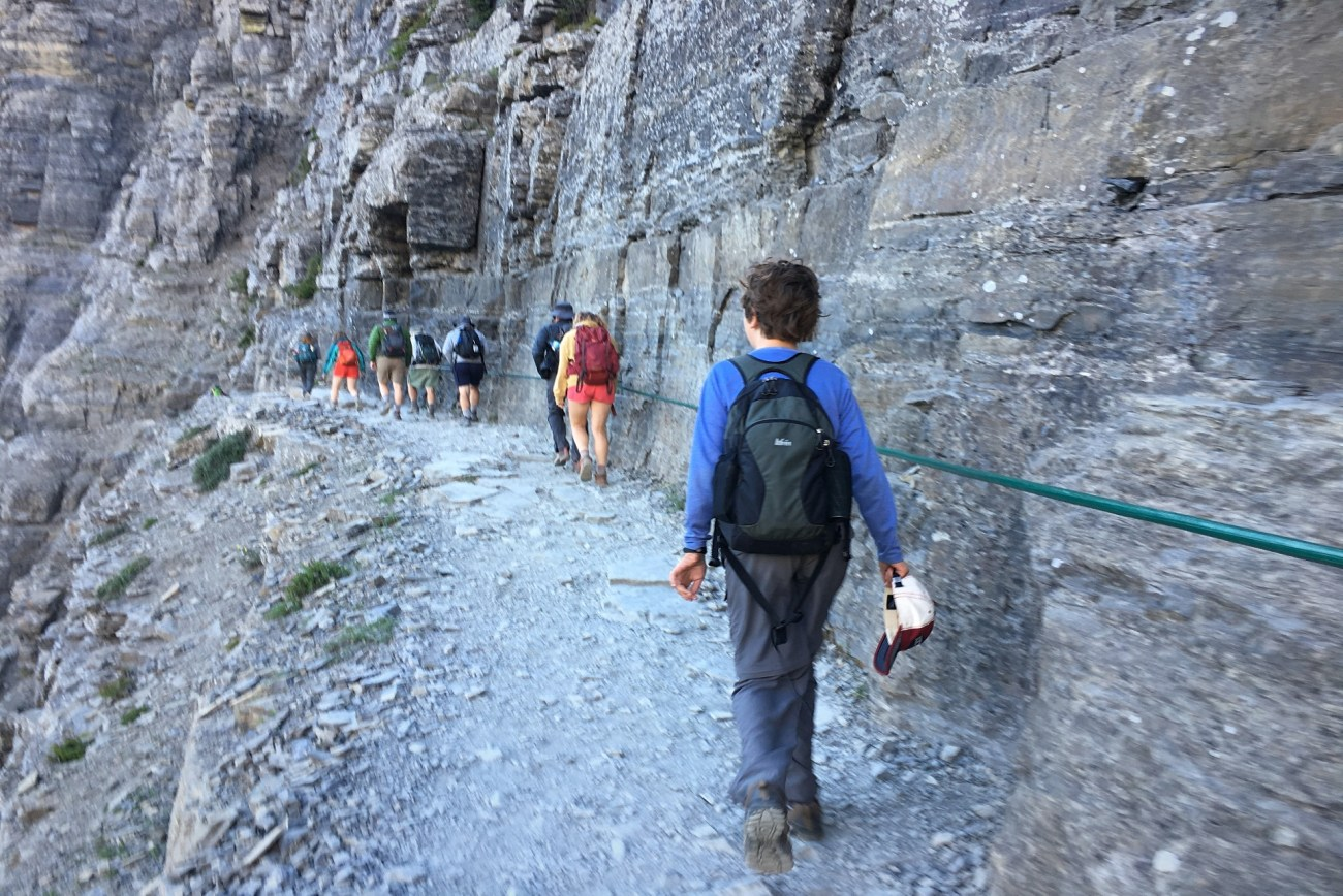 Planning a trip to Glacier National Park should include hikes