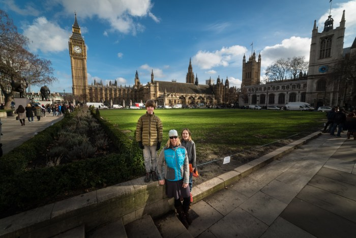 london travel with kids