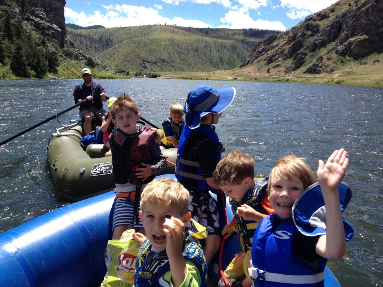 Family fun on the Madison River
