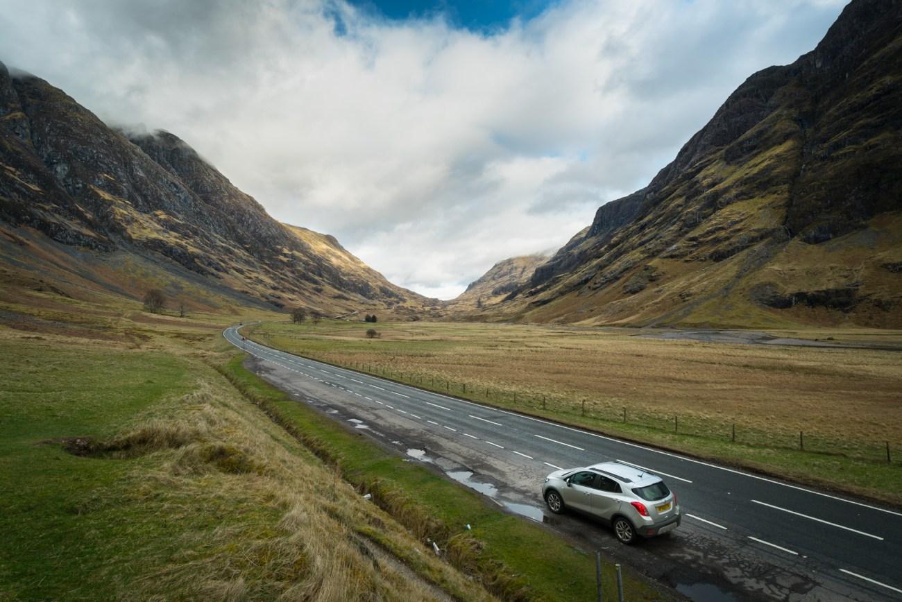 Best of Scotland itinerary glencoe