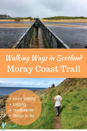 One of the best walks in Scotland is the Moray Coast Trail. Tips and details you need your hiking adventure. Includes things to see along the trail, places to stay on the Moray Coast Trail, and places to eat, and a Scotland hiking trail packing list. #hiking #scotland #moraycoasttrail #morayway #besthikes #adventure #travel #bucketlist #beautifulplaces #besthikesinscotland #Scotland #hiking #PackingList #HikingGear What to wear in Scotland | Hiking in Scotland | Moray Coast Trail |