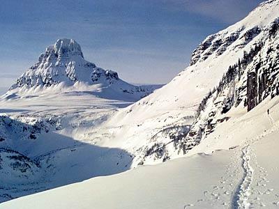Mt. Clements in Glacier National Park
