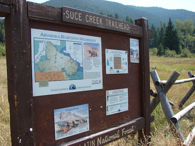Suce Creek Trailhead