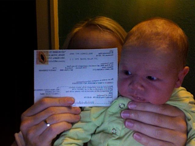 Finn and UPS postcard