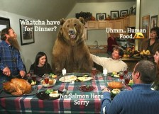 I bet this bear has a nice breathe.. I hope