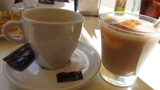 Cafe con leche…my addiction!
