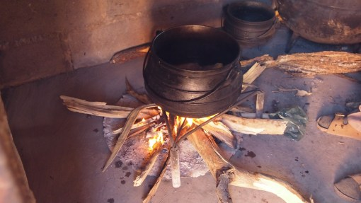 traditional pot and cooking
