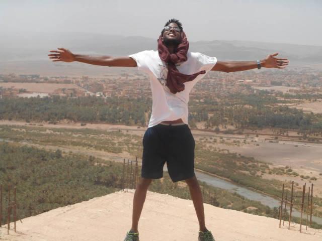 Dominic in Morocco