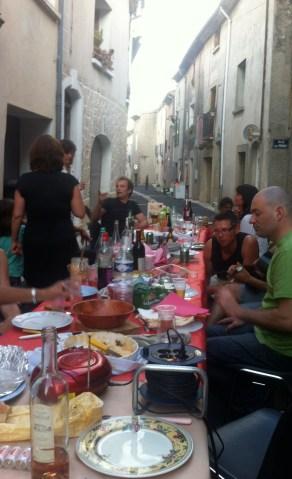 Montpeyroux repas 2013