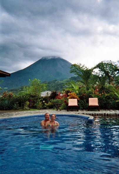 Honeymoon in Costa Rica at Arenal Volcano