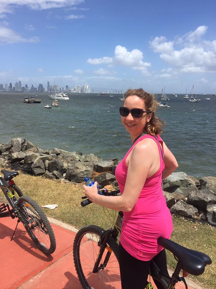 My first trip to Panama biking the Amador Causeway